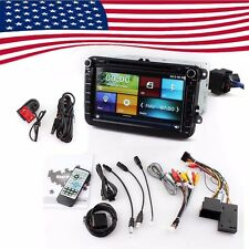 VW Touchscreen Wince Car Radio GPS Navigation DVR Camera DVD Player Stereo 8''