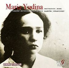 Maria Yudina - A Great Russian Pianist - Maria Yudina (2016, CD NEUF)