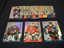 2000-01 Pacific McDonald's NHL Hockey Card Complete Set #1-36
