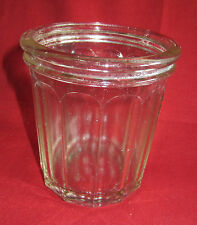 ancien pot confiture en verre REMOND
