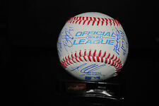 2015 Bowling Green Hot Rods team signed baseball Tampa Bay Rays Brent Honeywell!