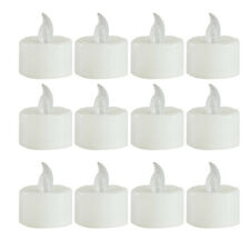 Flameless Smokeless LED Tealight Tea Candle Light Safety Home Decoration