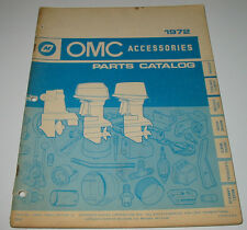 Parts Catalogue OMC Accessories Steering Remote Controls Marine Heads Electrical