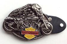 Harley Davidson Ghost Chopper Rider Biker Belt Buckle-Unisex-Custom Bikes-Trikes