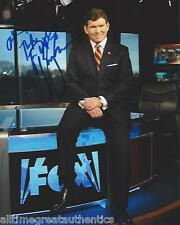 FOX NEWS HOST BRET BAIER SIGNED 8X10 PHOTO A W/COA THE SPECIAL REPORT
