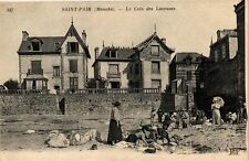 CPA  Saint-Pair (Manche) - Le Coin des Laveuses  (209463)