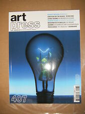 Art Press N°407 Robert Wilson Peter Pan Sigmar Polke Quemin Frida Khalo