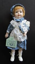 "Porcelain Doll ""Judy"" by Dynasty Doll Collection (NOS)"