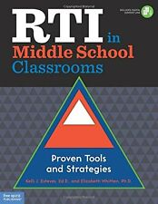 RTI in Middle School Classrooms: Proven Tools and Strategies
