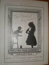 Mellin's Baby food shadow of a crime UK ad 1897