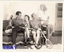 Grant Withers w/wife, Ralph Malone barechested VINTAGE Photo Lyda Roberti