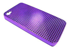PURPLE Diamond Ultra Light Hard Case for Apple iPhone 4 4S with Screen Protector