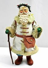 """Hiking Santa Claus Christmas Figure 9.75"""" Midwest Importers of Cannon Falls"""