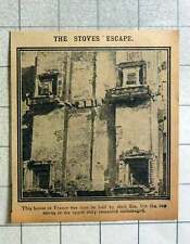 1915 House In France Torn In Half By Shells But Stoves Escape