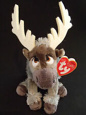 TY BEANIE - DISNEY SVEN WITH  SOUND SOFT PLUSH TOY -  FROZEN REINDEER -18CM / 7""