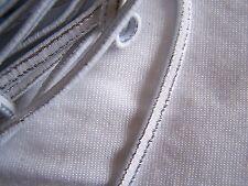 Elastique plat blanc largeur 5 mm, x 2 m