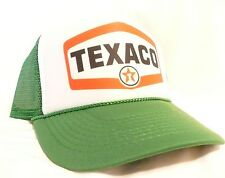 Texaco Gas Trucker Hat mesh hat snapback hat Green