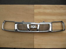 FULLY CHROME for NISSAN 720 NAVARA D22 PICKUP FRONTIER 1998-2000 GRILLE