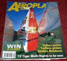 Aeroplane Monthly 1990 May Spitfire,Pitcairn,Vulcan,Koolhoven,Schlepp,Whitley