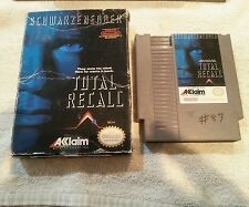 NES Nintendo Total Recall Nintendo Game Cartridge and Original Box Only