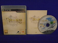 ps3 NI NO KUNI Wrath Of The White Witch RPG Playstation PAL