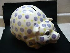 Animal Pig Polka Dot Bank #192