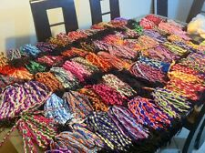 Wide Peruvian Handmade, Friendship Bracelets, lot of 50~uk seller~Wholesale