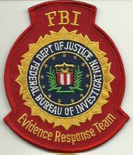 Fbi: evidence Response Team (CSI-csu) erkennungsd. Police Patch policía Patch