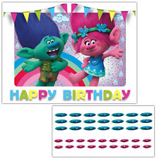 Trolls Movie Pin the nose on Poppy and Creek Daniel Tiger Birthday Party Game
