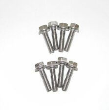 SB Chevy 283 - 302 6Pt Flange Stainless Steel Bolts with Steel Valve Covers NEW