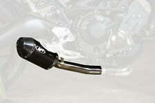 M4 Standard Mount Slip-On Exhaust For Yamaha FZ09 2014-2016 Carbon Fiber