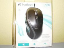 Logitech 910-001204 M500 USB Corded Laser 1000dpi Mouse Retail Package