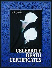 Celebrity Death Certificates-ExLibrary
