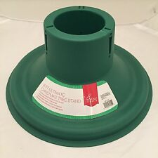 Home Elements 6 Ft Ultimate Christmas Tree Stand- Green - New