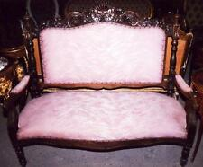 SOFA GARNITUR SET COUCH EICHE THRON SESSEL antik Barock Gotik Renaissance