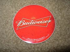 BUDWEISER Classic Red Circle Logo STICKER decal craft beer brewing
