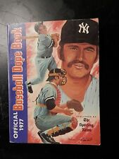 Vintage baseball dope book pictures stats sporting news records 1978 T Munson