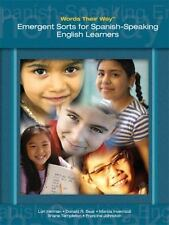 Words Their Way: Emergent Sorts for Spanish-Speaking English Learners, Johnston,