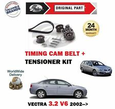 FOR VAUXHALL OPEL VECTRA C 3.2 Z32SE 2002-2005 TIMING CAM BELT + TENSIONER KIT