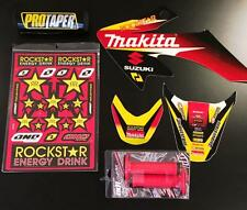 Honda Crf 50 04-16 PitBike Graphics Kit Free Troy Lee Grips Pro Taper Pad Suzuki