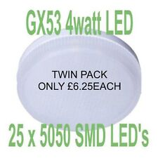 GX53 LED Light Bulb GX53 LEDS Under Unit LED Lights Kitchen LED Lights TWIN PACK