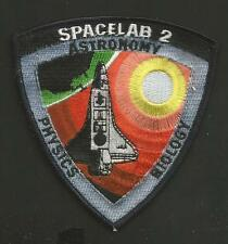 """SPACELAB 2 ASTRONOMY PHYSICS BIOLOGY 3 3/4 """" PATCH  NON IRON"""