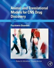 Animal and Translational Models for CNS Drug Discovery, Vol. 1: Psychiatric Dis
