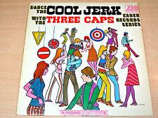 EX-/EX !! The Three Caps/Dance The Cool Jerk/1966 Atlantic Mono LP/Plum Label