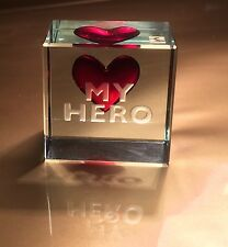 Spaceform My Hero Glass Token Romantic Love Christmas Gifts Ideas for him 0952