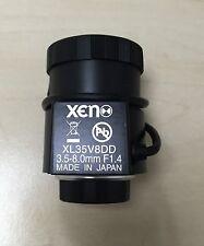 XENON xl35v8dd 3.5mm-8mm f1.4-360 Direct Drive Iris