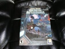 Star Wars Galactic Battlegrounds MANUAL lucasrts pc game instructions guide only