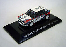 1/64 CMs RALLY CAR COL SS5 Diecast Figure LANCIA DELTA HF INTEGRALE 16V 1991