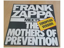 Frank Zappa – Frank Zappa Meets The Mothers Of Prevention - LP Made in Brazil
