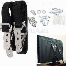 2x TV Anti Tip Positioning Safety Straps Anchor Baby Child Secure Proofing Nylon